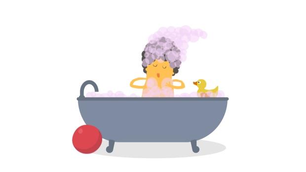 boy bathtub